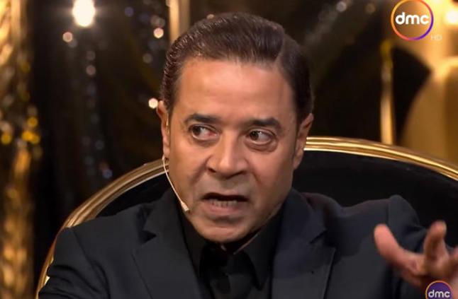 """بالفيديو- مدحت صالح: """"بمجرد دخولي المنزل أضع نفسي تحت أمر الهانم""""نسمة أحمد"""