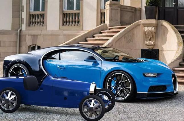 """شاهد: """"بوجاتي"""" تكشف عن سيارة كهربائية صغيرة لأطفال الأثرياء"""