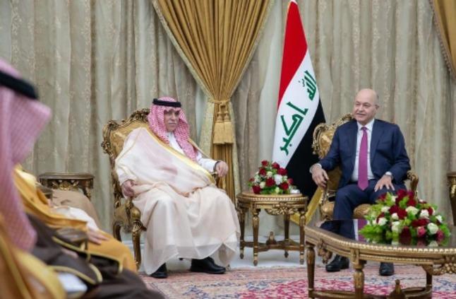 رئيس جمهورية العراق يستقبل وزير التجارة والاستثمار » صحيفة صراحة الالكترونية