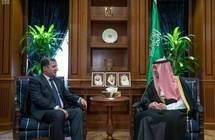 الجبير يستقبل سفيري طاجكستان و السودان