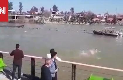 ارتفاع عدد غرقى العبارة في نهر دجلة بالعراق إلى 71 شخصا