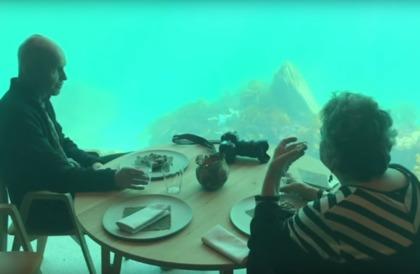 شاهد.. النرويج تفتتح أكبر مطعم مغمور تحت الماء في أوروبا