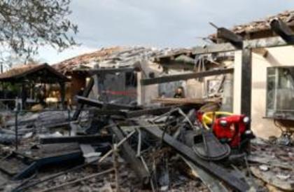 7 جرحى جراء إطلاق صاروخ من غزة على وسط إسرائيل