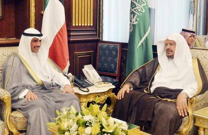 رئيس «الشورى» للغانم: الزيارات الثنائية تخدم مصالحنا المشتركة وتعزز التعاون البرلماني
