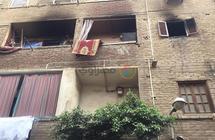 """""""جدعنة أهل الحتة"""" في حريق الزاوية: إنقاذ أعقبه ترميم الشقة وفرشها بالمساعدات (صور)"""