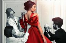 """قارن بنفسك- الملصق الدعائي لمسلسل """"حكايتي"""" مسروق من Diorأمل مجدي"""