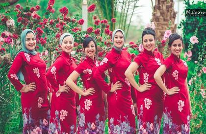 """كيف احتفلت أول دفعة """"للغة الصينية"""" بتخرجها من جامعة المنيا؟ (صور)"""