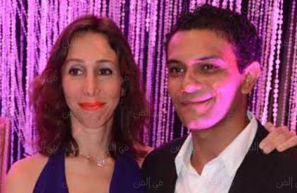 صورة- بطريقة رومانسية.. آسر ياسين يهنئ زوجته بعيد ميلادهامي جودة