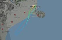 """طائرة نيوزيلندية تعود من منتصف الطريق بعد اصطدامها بشيء """"غير معروف"""""""