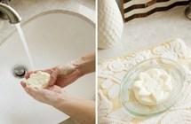 طريقة تصنيع صابونة فاخرة بالعسل والحليب