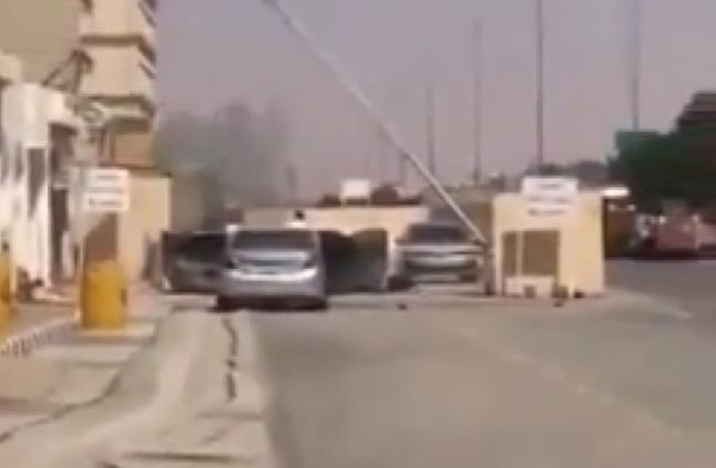 فيديو.. إحباط هجوم إرهابي على مركز مباحث الزلفي
