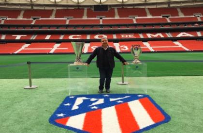 الدوري الإسباني يكرم أسطورة تونس طارق ذياب بملعب أتلتيكو