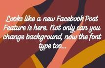 """""""فيسبوك"""" يختبر خطوطاً جديدة للمنشورات"""