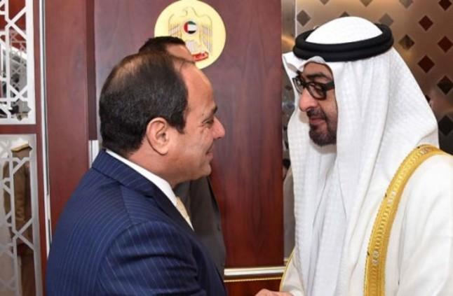 السيسي ومحمد بن زايد: أي استهداف للسعودية واستقرارها يمثل استهدافًا لأمن المنطقة والعالم