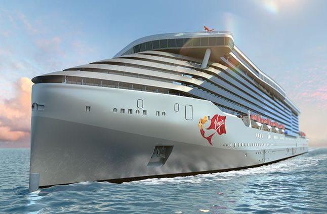 بالصور: هذه السفينة السياحية توفر أول ملاهي ترفيهية على متنها