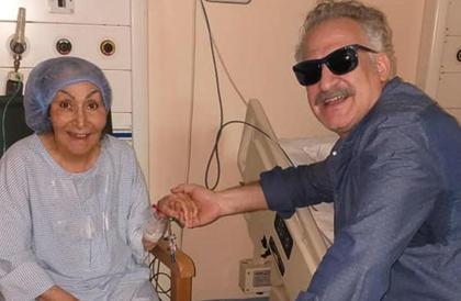 بالصور- سهير البابلي في المستشفىمي جودة