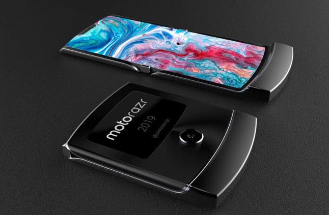 Lenovo تستخدم فيديو تخيلي للهاتف Motorola Razr 2019 لأحد المعجبين في حدث صحفي صيني - إلكتروني