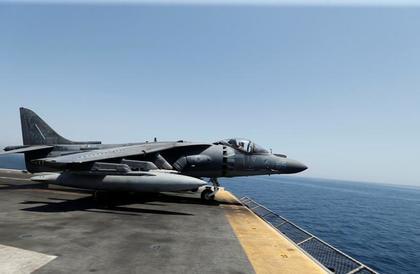 تحطم طائرة للبحرية الأمريكية في ولاية كارولينا الشمالية
