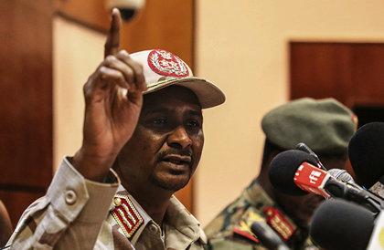 حميدتي: لا يوجد لدى روسيا أجندة في السودان