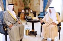خالد الفيصل يستقبل السفير الكويتي والهندي