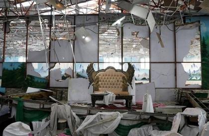 أفغانستان: عشرات القتلى والجرحى في تفجير انتحاري استهدف حفل زفاف في كابول