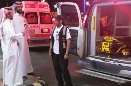 8 إصابات في حادث انقلاب حافلة تقل 50 راكباً على طريق الطائف – الرياض