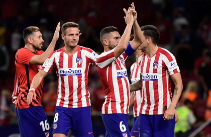 """أتلتيكو مدريد يهزم خيتافي بشق الأنفس في مباراة البطاقات """"الملونة"""""""