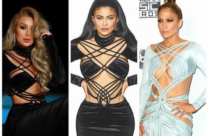 #شرطة_الموضة: مايا دياب تعيد ارتداء فستان كايلي جينير وجينيفر لوبيزمي جودة