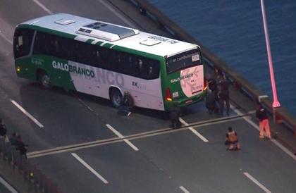 مقتل محتجز رهائن حافلة ريو دي جانيرو برصاص الشرطة