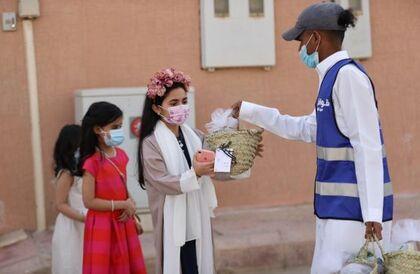 """مؤسسة """"أحياها الإنسانية""""  تطلق مبادرة قوافل العيد"""
