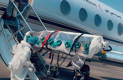 عبر طائرة الإخلاء الجوي.. نقل المواطنين المصابين بـ«كورونا» من إندونيسيا إلى المملكة (صور)عبر طائرة الإخلاء الجوي.. نقل المواطنين المصابين بـ«كورونا» من إندونيسيا إلى المملكة (صور)