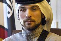 أصغر الأبناء الذكور للملك الحسين بن طلال من زوجته الملكة نور الحسين