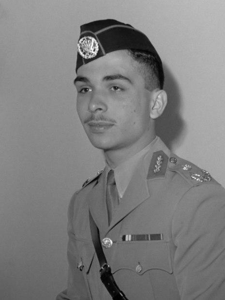 الحسين بن طلال بن عبدالله بن حسين الهاشمي، ملك الأردن السابق