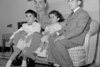 كان الابن البكر للأمير طلال بن عبد الله والأميرة زين الشرف بنت جميل،  كان له 4 إخوه بينهما فتاة ماتت في سن صغيرة