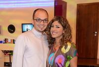 تمت خطبتها لمدير أعمالها أحمد البريكي والذي انفصلت عنه بعد علمها بزواجه بأخرى دون علمها
