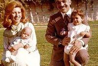 قامت الملكة علياء بتبنيها في عام 1973، وكانت تبلغ حينها 6 أشهر فقط بعد أن تخلى عنها والدها، بعدنا سقطت على منزلهم طائرة (توبوليف)