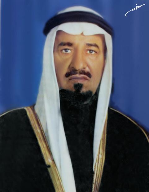 هو الملك خالد بن عبد العزيز بن عبد الرحمن بن فيصل بن تركي آل سعود