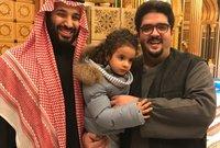 تزوج عام 2010 من الأميرة العنود بنت فيصل بن مشعل، وأنجب منها ابنته الأميرة الجوهرة عام 2015 والأميرة لطيفة عام 2016