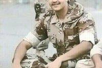 تطوع للمشاركة مع الجيش السعودي في حرب الخليج وهو في عمر الـ 18 عامًا