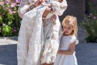أميرة السويد فيكتوريا مع ابنتها