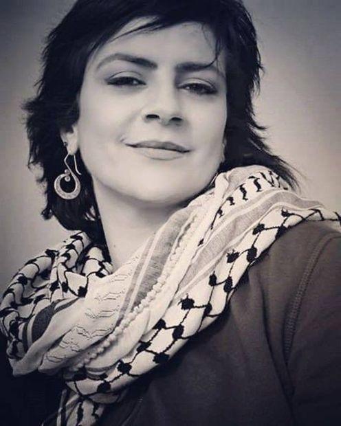 فنانة فلسطينية ولدت عام 1966 بمدينة الناصرة