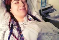 ولكنها أصيبت شلل في الوتر الصوتي الأيسر عام 2016