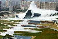 مركز حيدر علييف فى أذربيجان