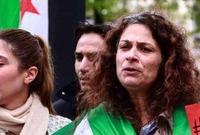 ورفضت نظام بشار ولقبت بلقب أيقونة الثورة السورية