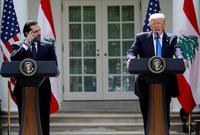 صورة تجمعه بالرئيس الأمريكي دونالد ترامب