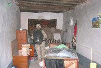 اختبأ لعدة أشهر في مخبأ سري بعد سقوط العراق في أيدي التحالف الأمريكي البريطاني