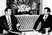 صور لصدام مع حكام الدول العربية أبرزهم حسني مبارك الرئيس المصري الأسبق