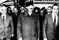 مع مبارك والملك الحسين