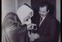 مع الملك فهد ملك السعودية