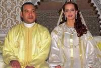 تزوجت الملك في حفل زواج خاص عام 2002